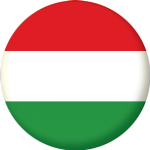 Hungary Country Flag 25mm Pin Button Badge